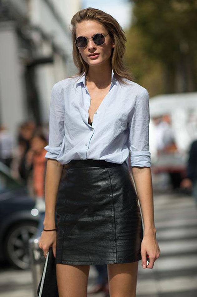camisa-azul-de-tricoline-tendencia-moda-ruas