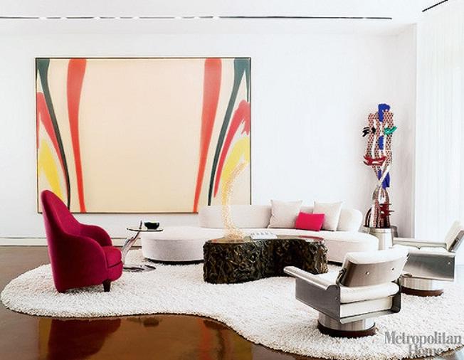 quadro sala colorida