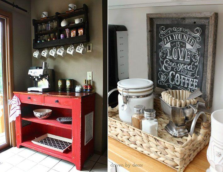 Coffee Bar Para Casa Diy